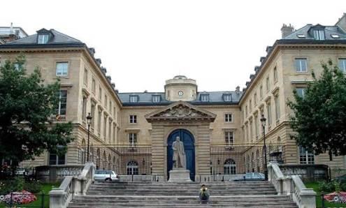 Collège de France - Façade place Marcelin-Berthelot © Structurae/Jacques Mossot